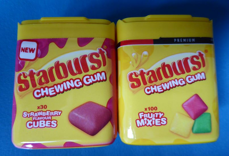 Starburst gums – risk of rapid onset hypoglycaemia