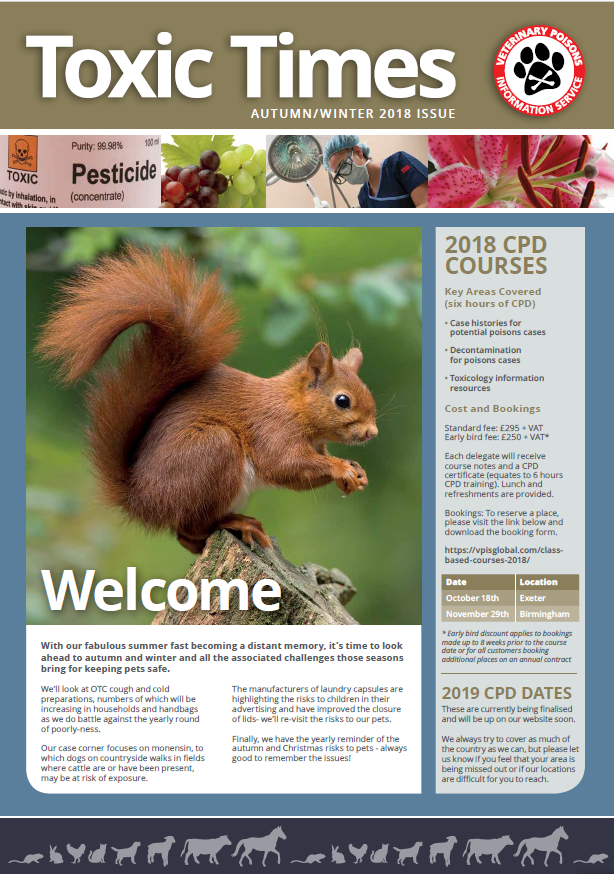 first page of Autumn newsletter