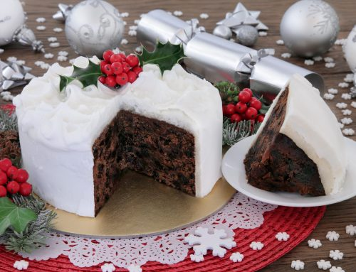 Grapes and dried fruits – Christmas cake and Christmas pudding